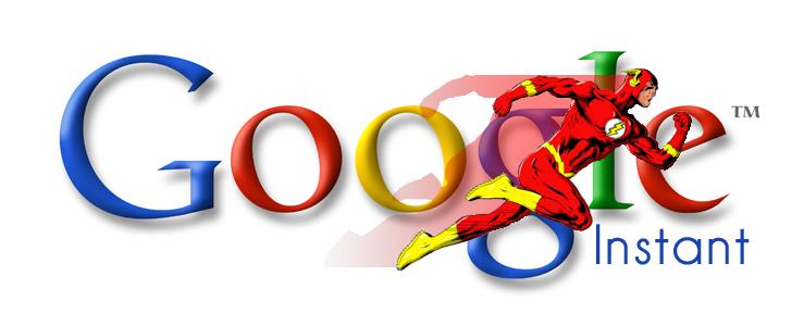 Principales características de Google Instant
