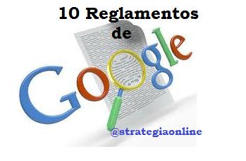 10reglamentosGoogle