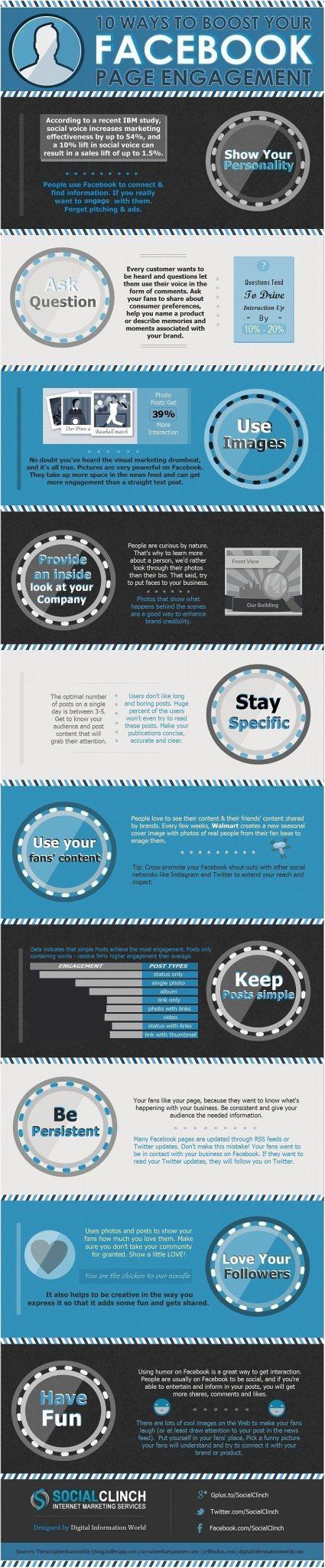 10 mejores prácticas para aumentar el engagement en tu Fan Page.