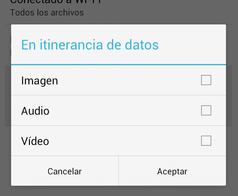 Configura tu Whatsapp para no quedar sin espacio en el móvil