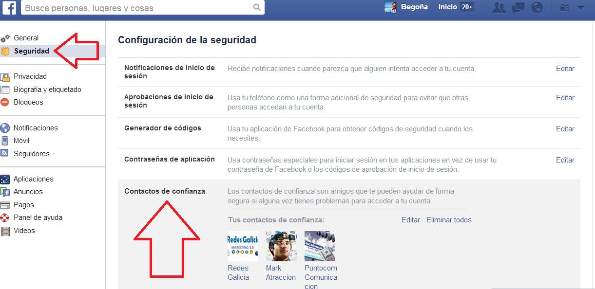 Recupera tu cuenta de Facebook en solo 2 pasos.