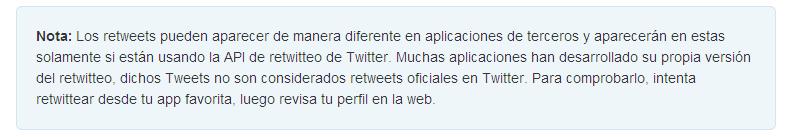 TwitterparecidoaFB1Centro de Ayuda de Twitter   Preguntas Frecuentes sobre Retweets  RT