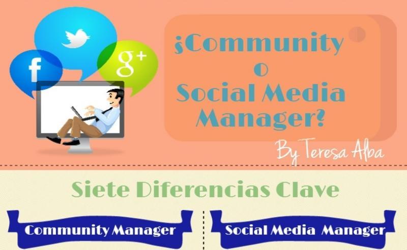 Diferencias básicas entre un Community Manager y un Social Media Manager