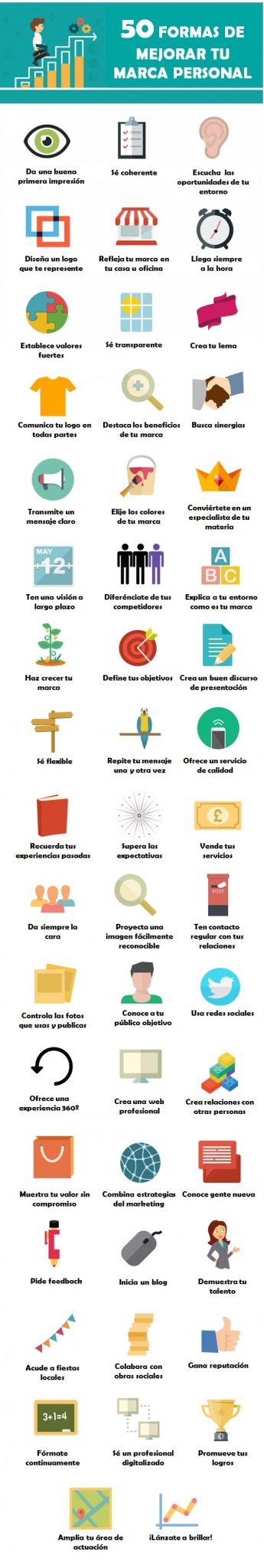 50-formas-mejorar-marca-personal-infografia
