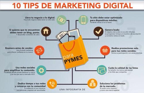 20 Consejos para empezar con el Marketing Digital.