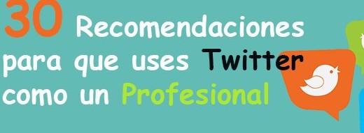 Las mejores recomendaciones para principiantes en Twitter.