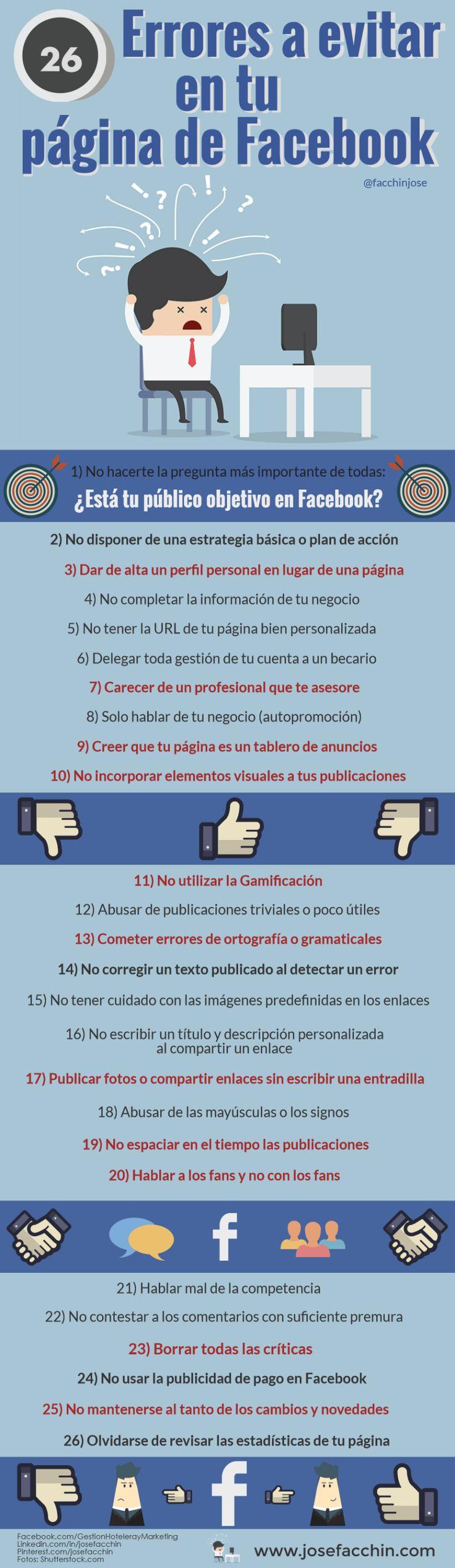 26errores a evitar en tu facebook