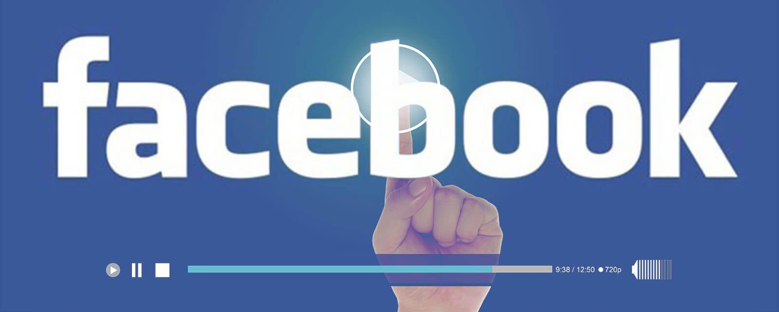 Crea un vídeo directamente en tu página de Facebook.