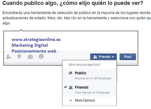 Cuida la privacidad de tu Facebook. Prevenir antes que lamentar.
