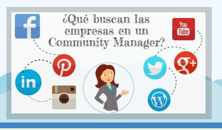 Que  buscan las empresas en un Community Manager «perfecto».