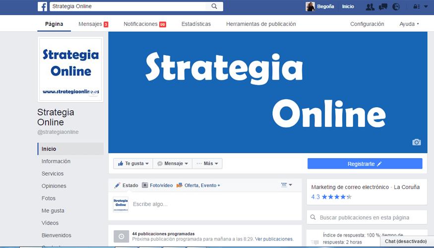 Facebook vuelve a cambiar el diseño de sus páginas profesionales.