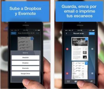 5 aplicaciones de móvil para escanear y editar documentos .