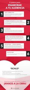 6 Pasos para enamorar a tu audiencia. Amor a primera vista.