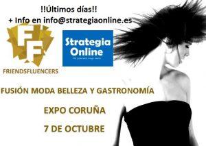 Evento en Coruña para estar en las Redes Sociales Gastronomía y Moda