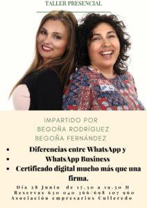 Curso diferencias entre WhatsApp y WhatsApp Business Certificado Digital.