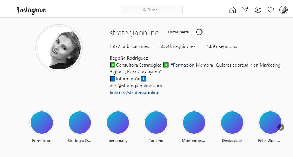Mejora tu instagram II Taller Importancia SEO y la BIO