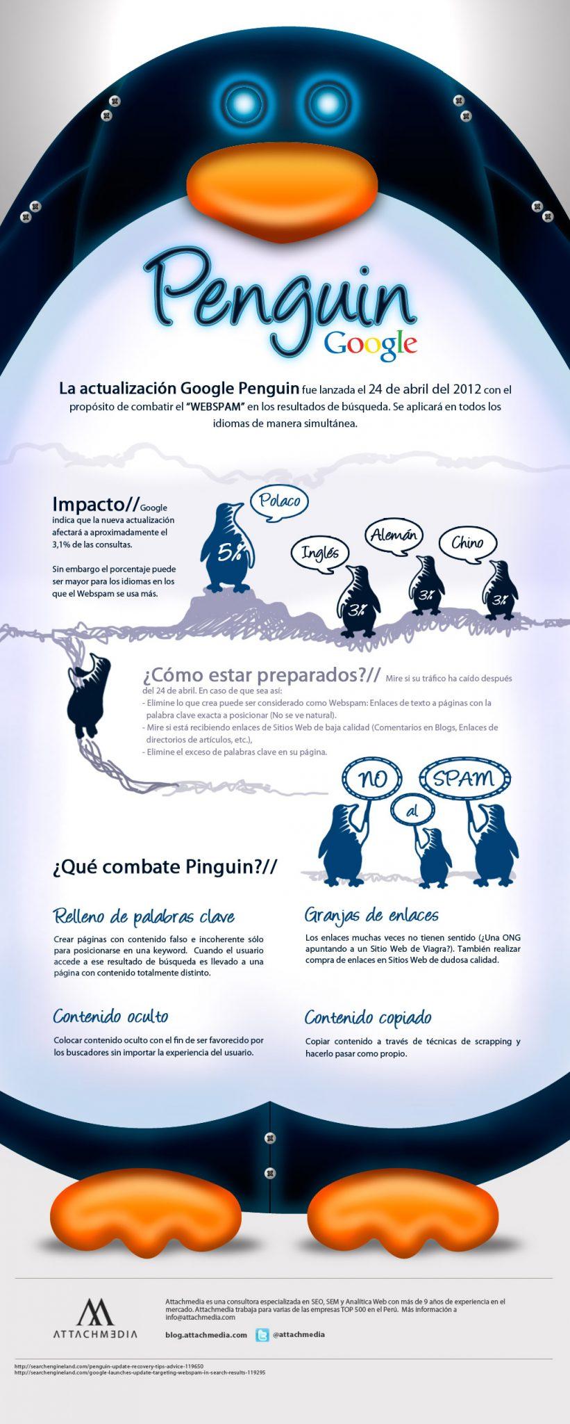 Google Penguin, Marketing de calidad #Vídeo #Infografía
