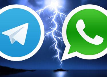 ¿Telegram o Whatsapp ?