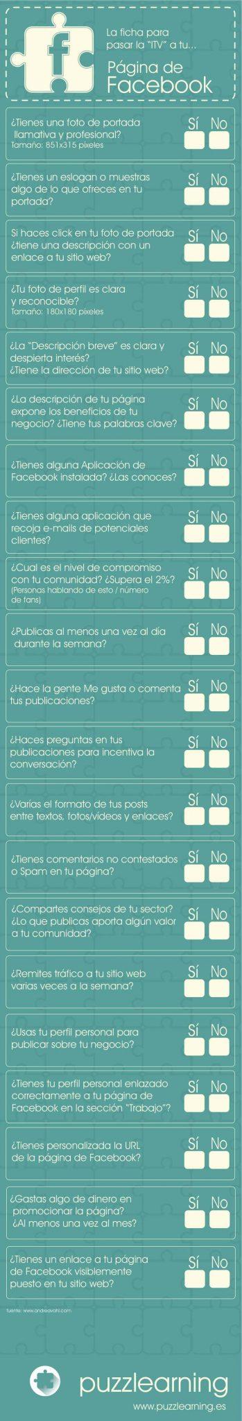 Responde estas preguntas para saber si tu página de Facebook está de forma profesional