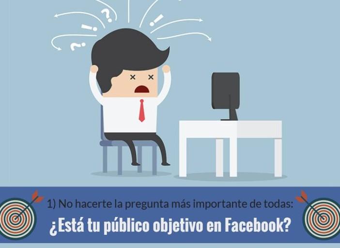 Errores habituales que debes de evitar en tu página de Facebook.