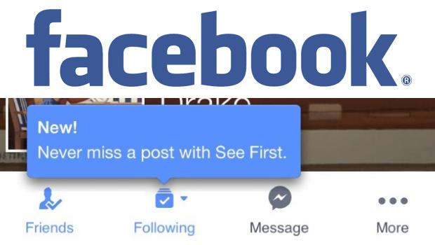 El SeeFirst de Facebook la nueva meta para las Fan Page