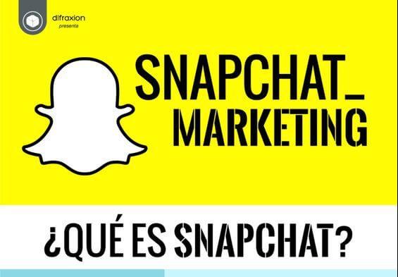 Snapchat la mensajería de vídeos y fotos instantánea.