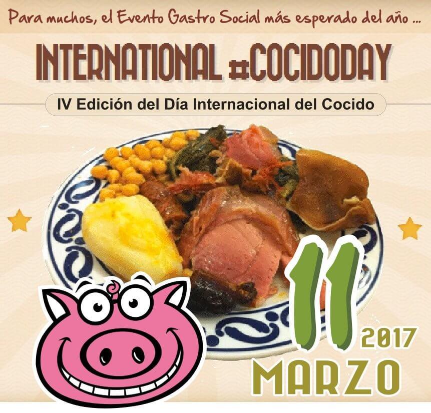 Día Internacional del Cocido Day los mejores bloggers e influencers a nivel.