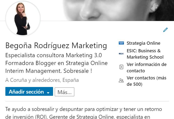 LinkedIn la mejor tarjeta de presentación digital empezando por el perfil.